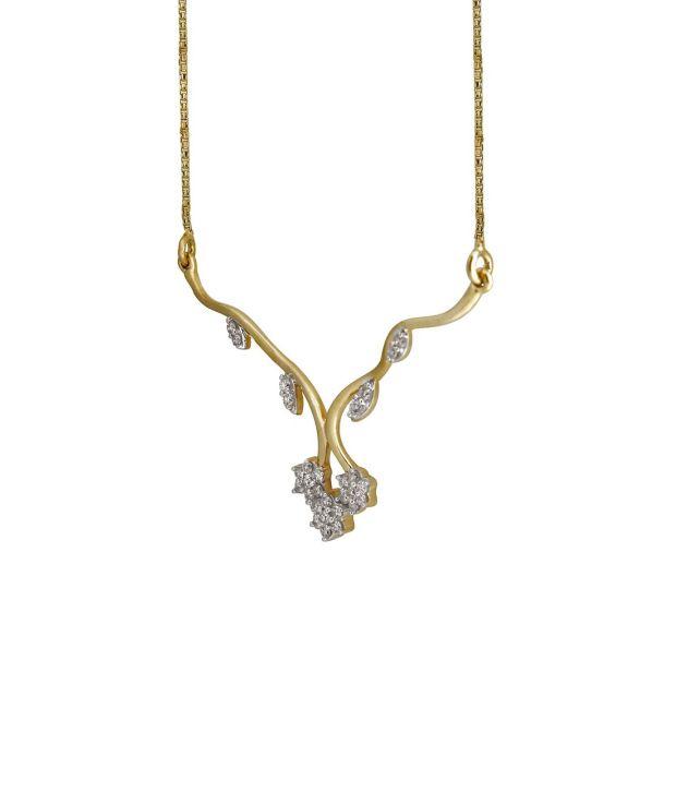 Nirvana 18Kt Floral Necklace