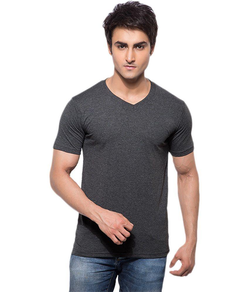 Hbhwear Black Cotton T-Shirt