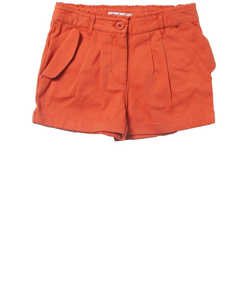 Nauti Nati Dark Rust Girls Shorts