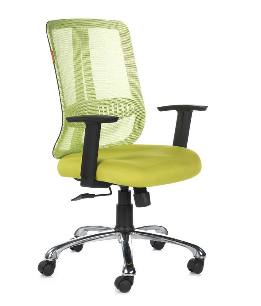 bluebell ergonomic metal and plastic natural finish office