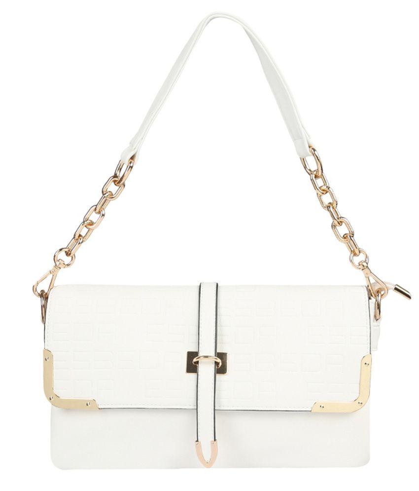 b1f980ebf6e Esbeda ESBD1297WHITE White Sling Bags - Buy Esbeda ESBD1297WHITE White  Sling Bags Online at Best Prices in India on Snapdeal