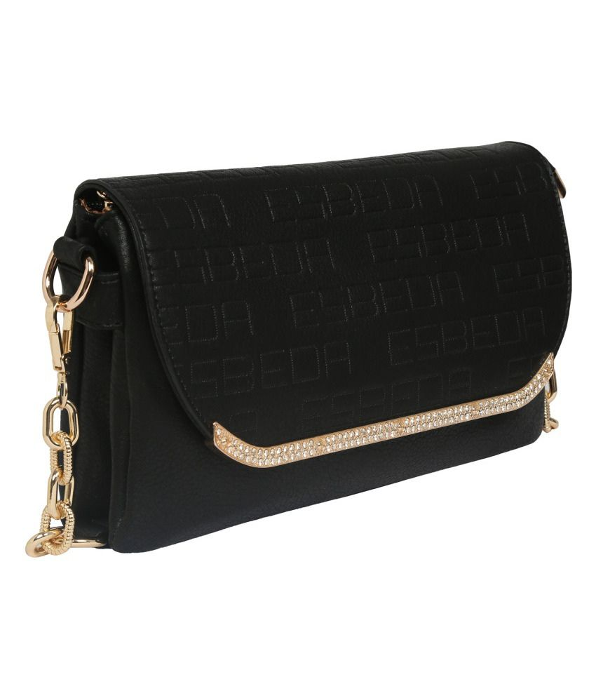 1be09cd3364 Esbeda ESBD2133BLACK Black Sling Bags Esbeda ESBD2133BLACK Black Sling Bags  ...