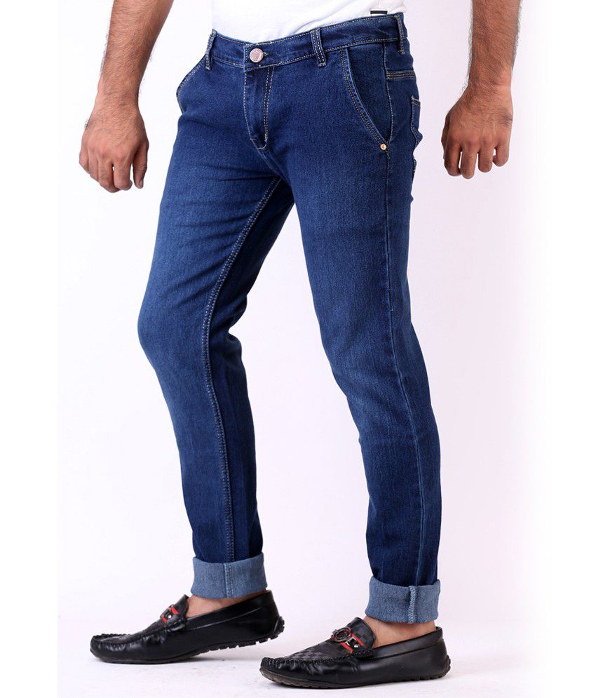 Blue Denim Jeans For Men - Xtellar Jeans