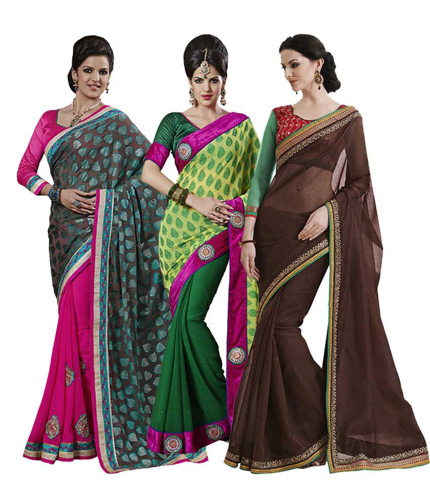 Indian Women Pack of 3