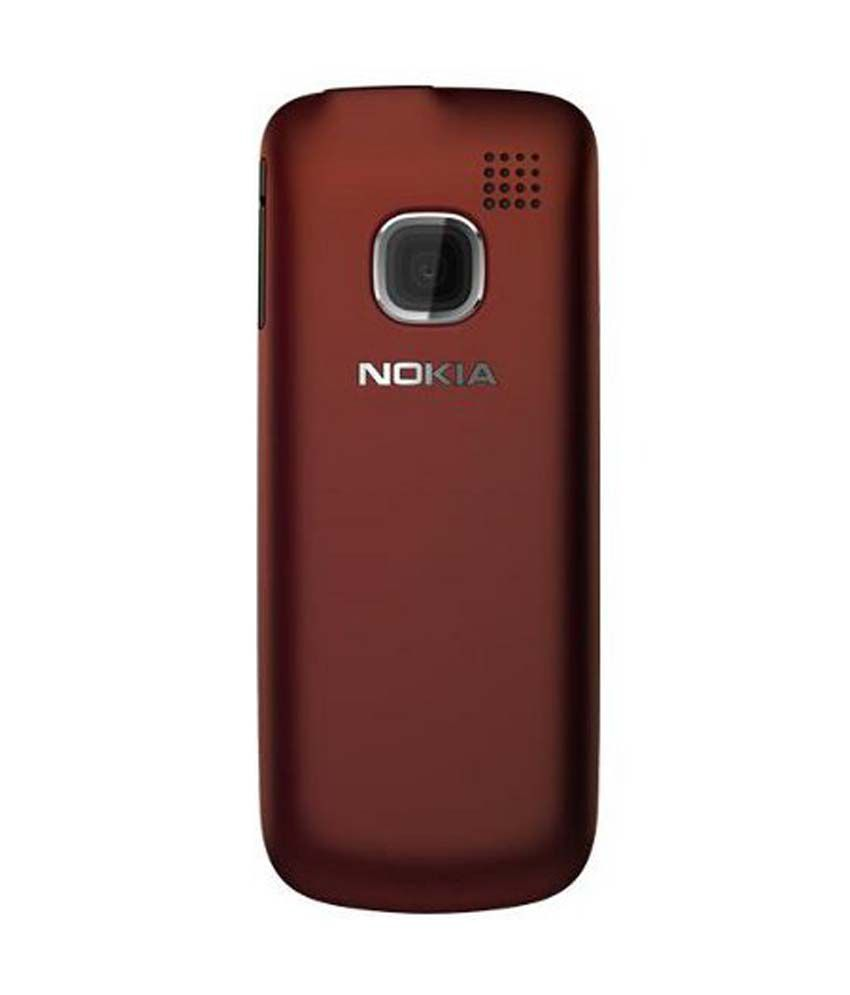 best sneakers 9cf18 70fce Nokia Hard Shell Back Cover Case For Nokia C1-01 - Red - Plain Back ...