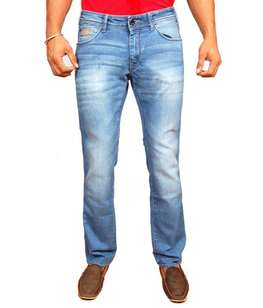 fcb8efc7 Wrangler Slim Fit Lycra Jeans Light Blue Color For Men - Buy Wrangler Slim  Fit Lycra Jeans Light Blue Color For Men Online at Best Prices in India on  ...