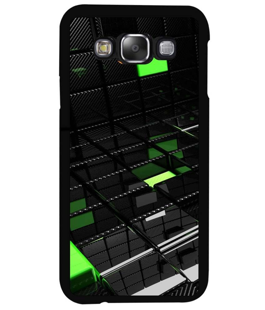 Dot print back cover for samsung galaxy e7 transparent 3d for Case 3d online