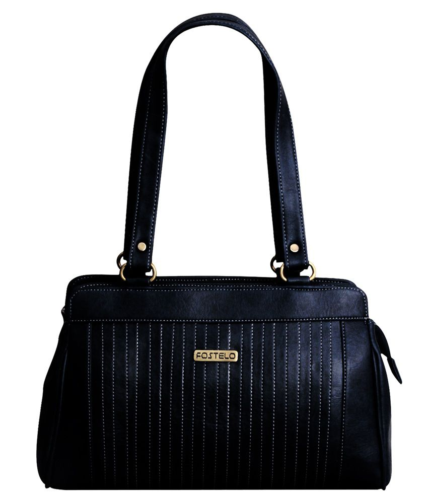 Fostelo Beautiful Black Shoulder Bag - Buy Fostelo Beautiful Black Shoulder  Bag Online at Best Prices in India on Snapdeal 20a230f8b6
