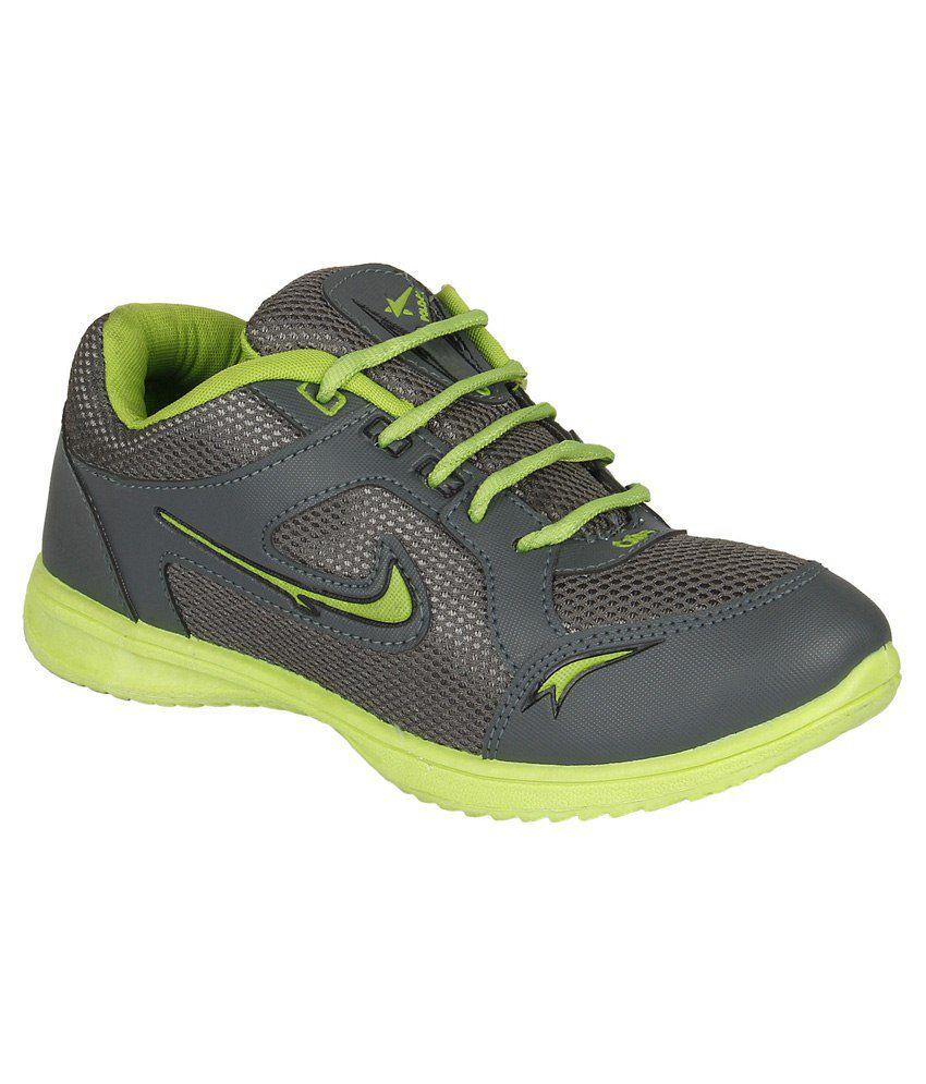 buy earton footwear gray canvas sport shoes for