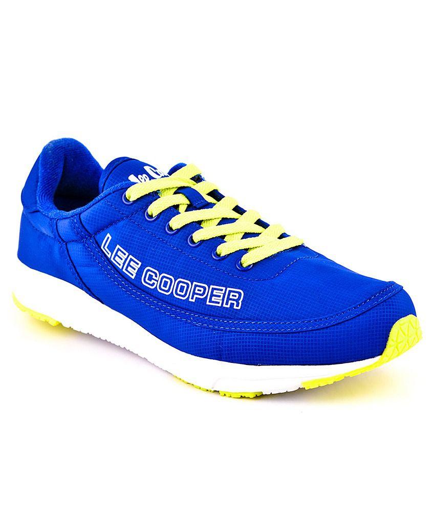 Lee Cooper Sports Blue Sport Shoes