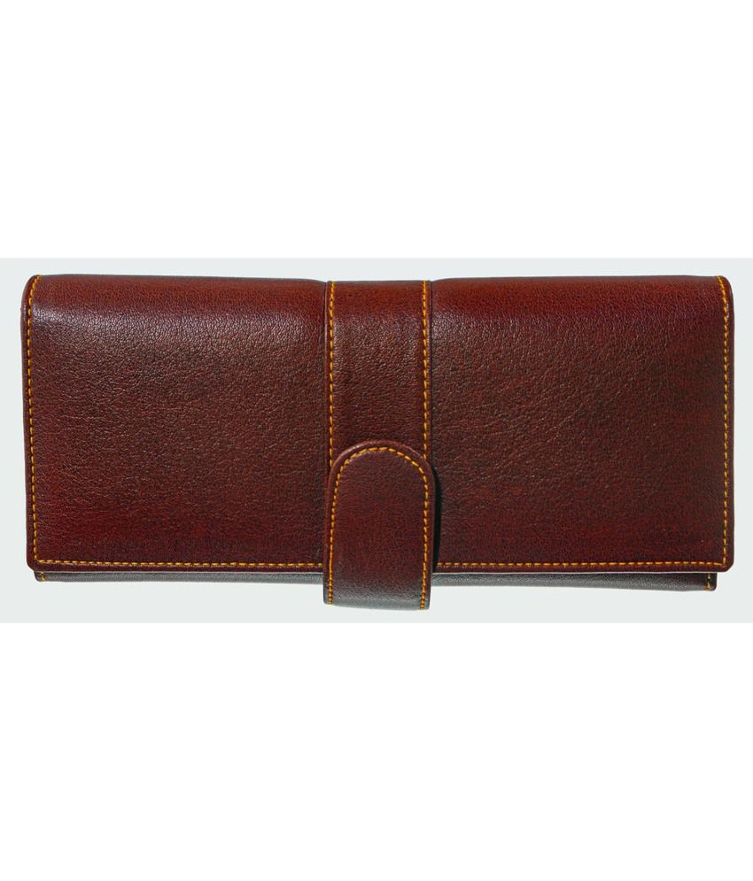Lee Italian Light Brown Leather Regular Wallet
