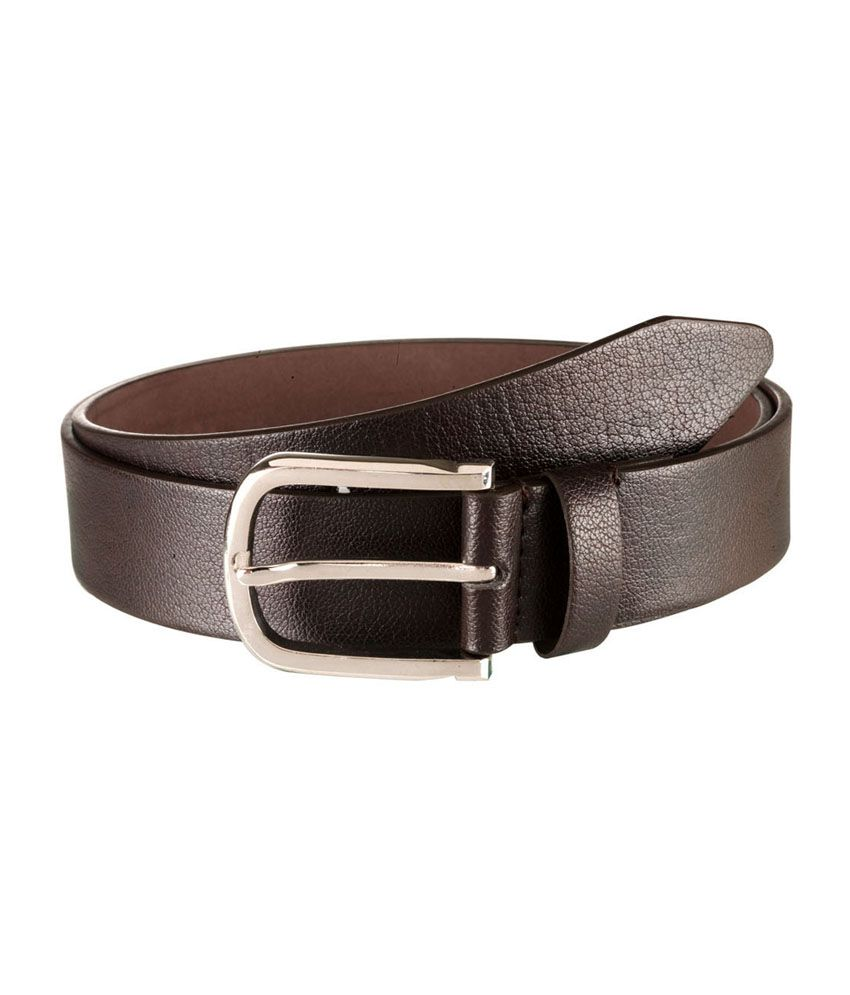 Orkee Brown Texture Men Formal Belt