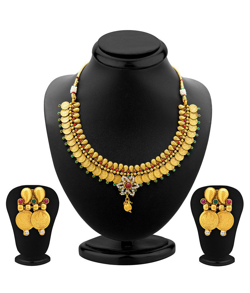 Sukkhi Enamourous Antique Necklace Set