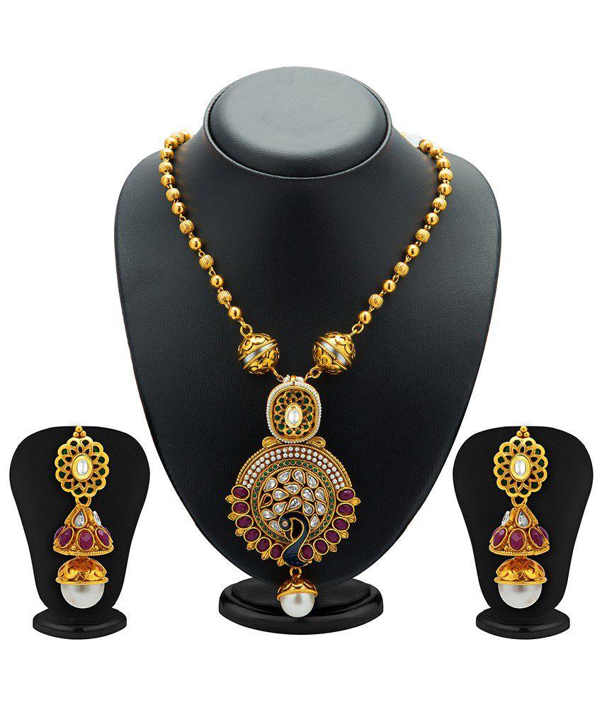 Sukkhi Majestic Mayur Necklace Set