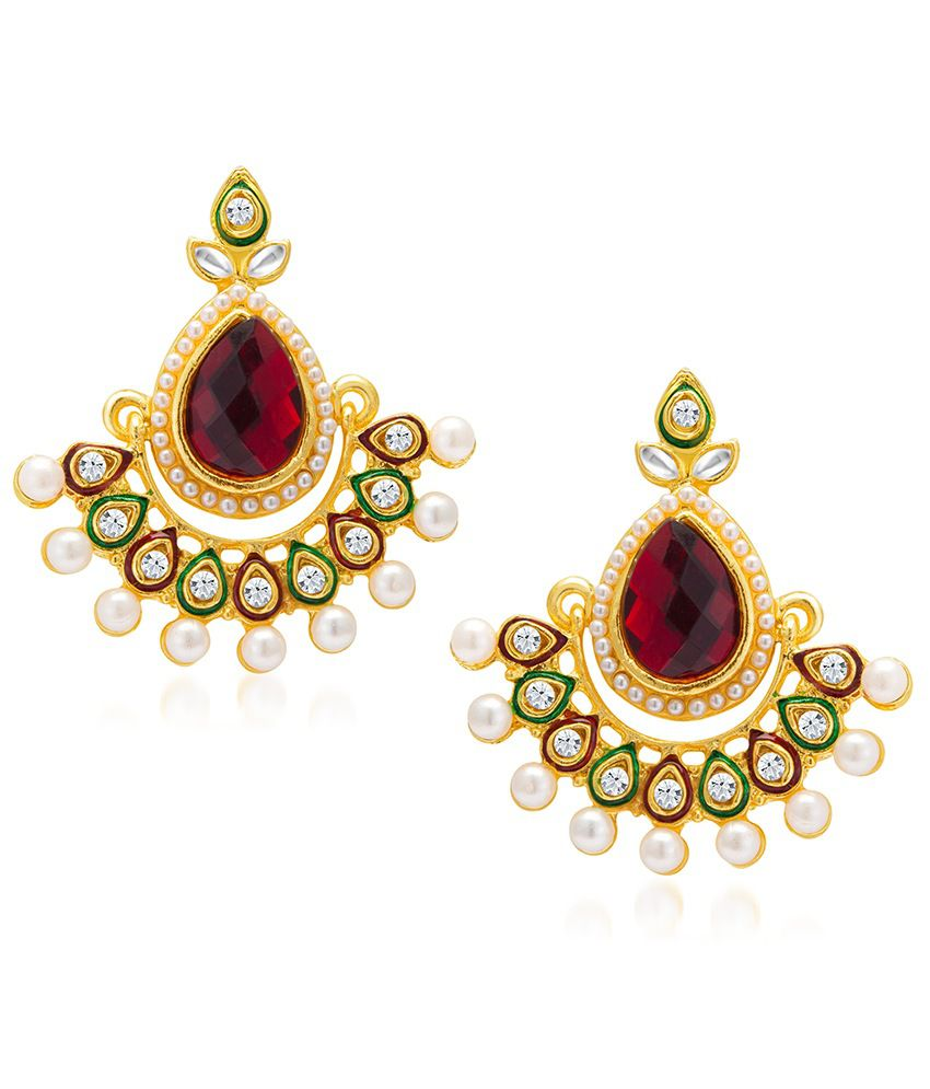 Sukkhi Royal Gold Plated Earring For Women