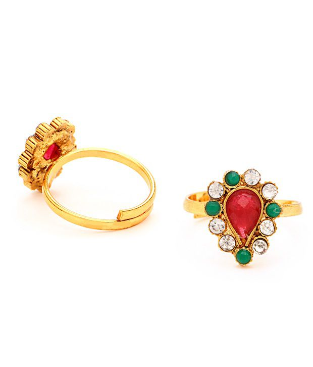 Sukkhi Stylish Toe-rings