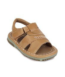 Action Shoes Beige Sandals For Boys