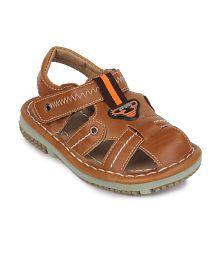 Action Shoes Blue Sandals For Boys