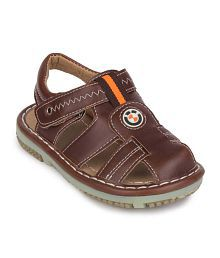 Action Shoes Brown Sandals For Boys