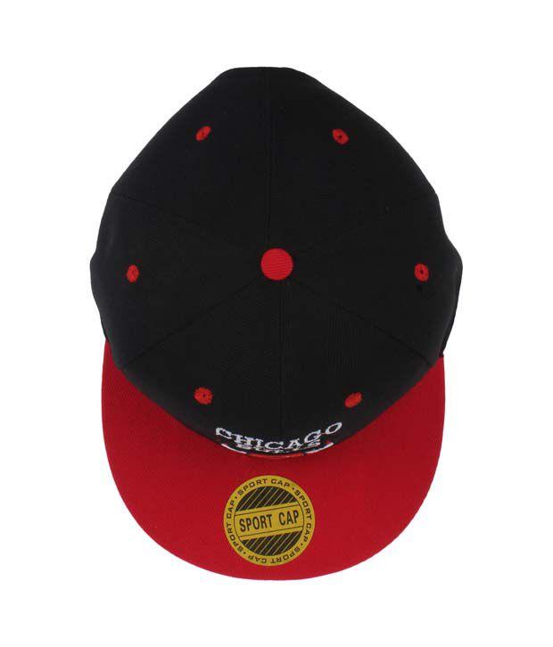 08be92253b2 Eccellente Black Hiphop Cap Chicago Bulls - Buy Online   Rs.
