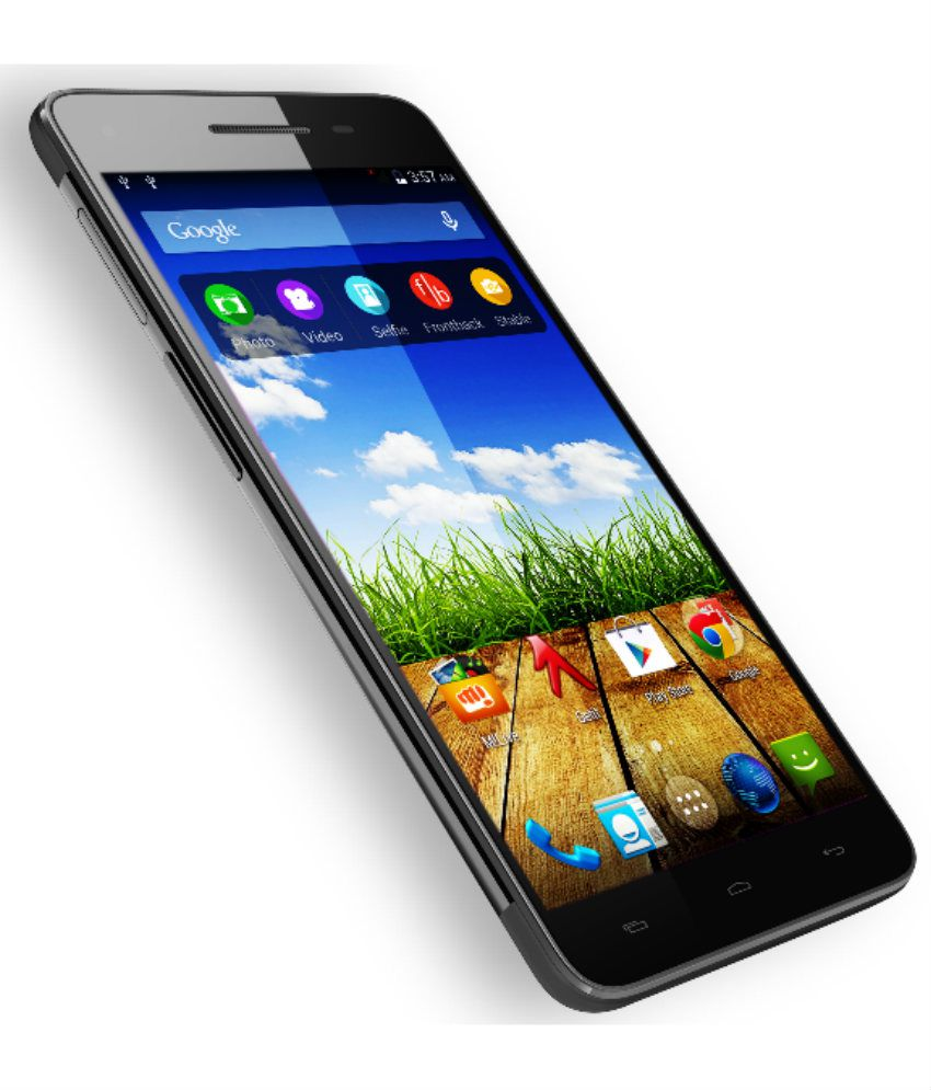Micromax Canvas Hue 2 (16GB, Black) Mobile Phones Online ...