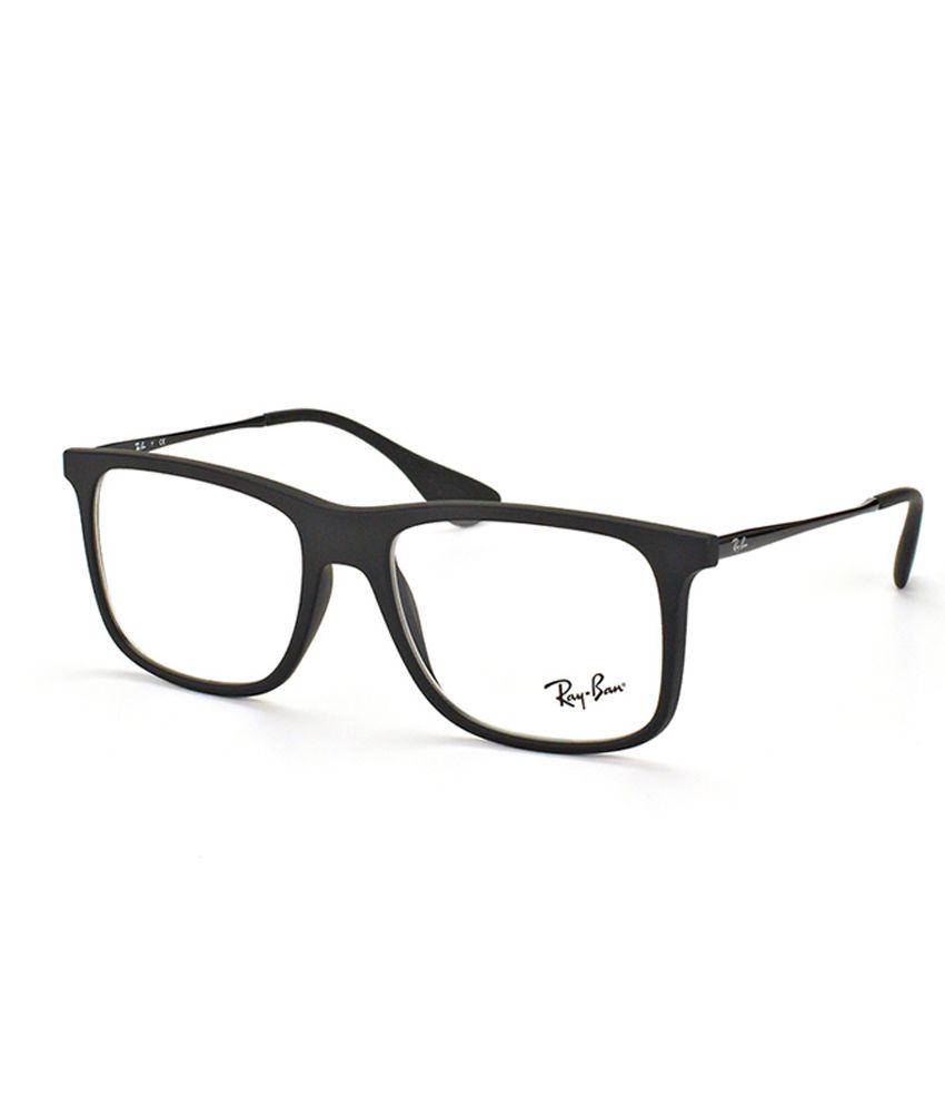 4d147451418 Ray-Ban Rx-7074-5364--53 Black Non Metal Full Rim Wayfarer Frame - Buy Ray-Ban  Rx-7074-5364--53 Black Non Metal Full Rim Wayfarer Frame Online at Low  Price ...