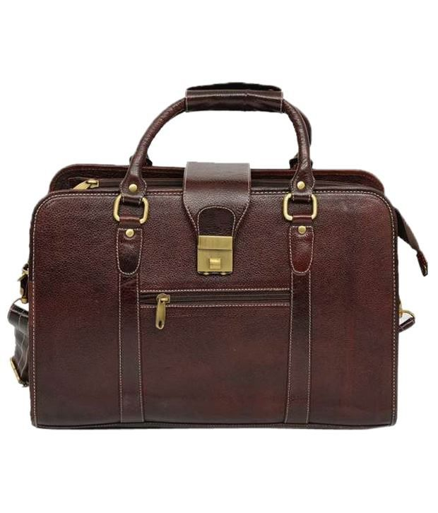 C Comfort Brown Laptop Bag