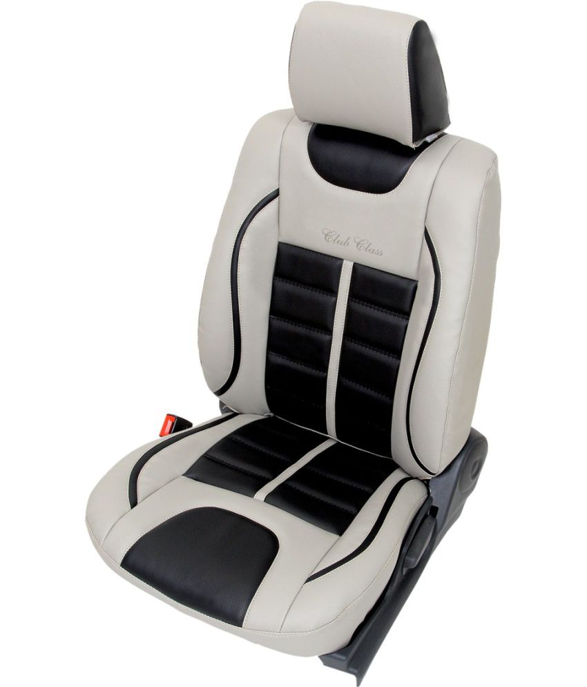 Club Class Grey Pu Leather Seat Covers For Nissan Micra