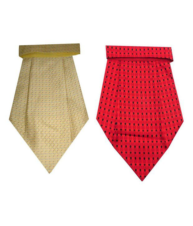 Leonardi Micro Fiber Cravat Combo for Men