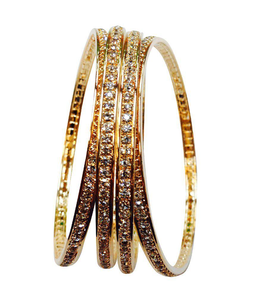Shiva Fashion World Traditional Designer Pair of Bangles