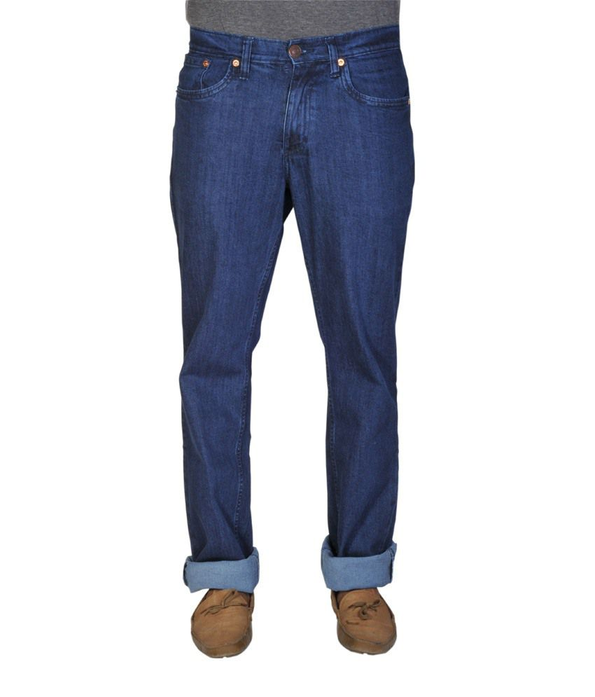 Levi's Blue Cotton Jeans-531