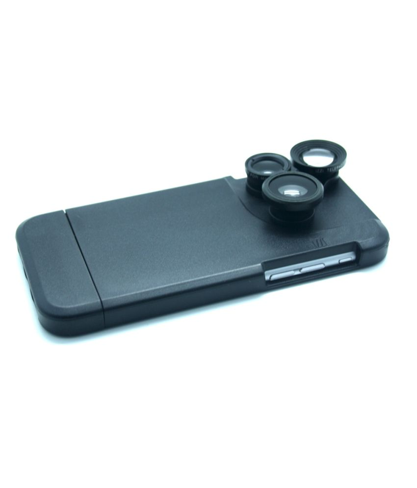 Smiledrive 3 In 1 Inbuilt Lens Case For IPhone 6 Plus / 6s Plus With 2x Zoom