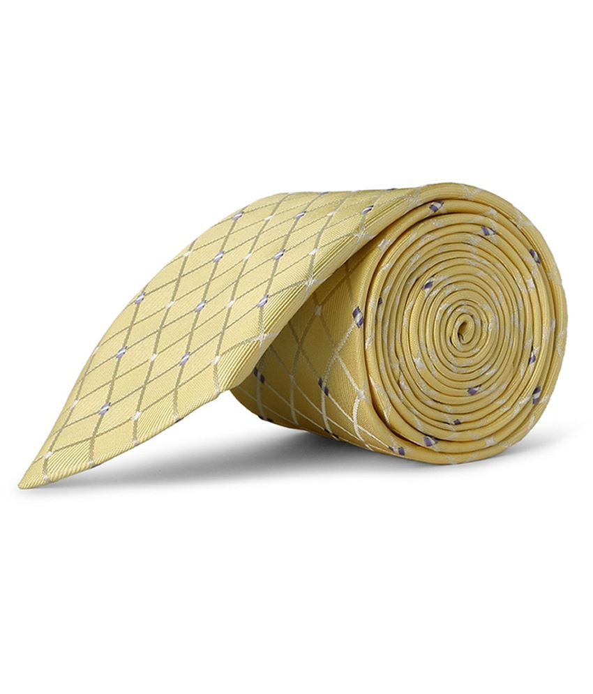 Yellow Casual Tie