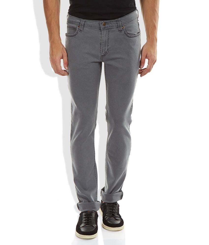Lee Gray Skinny Fit Jeans