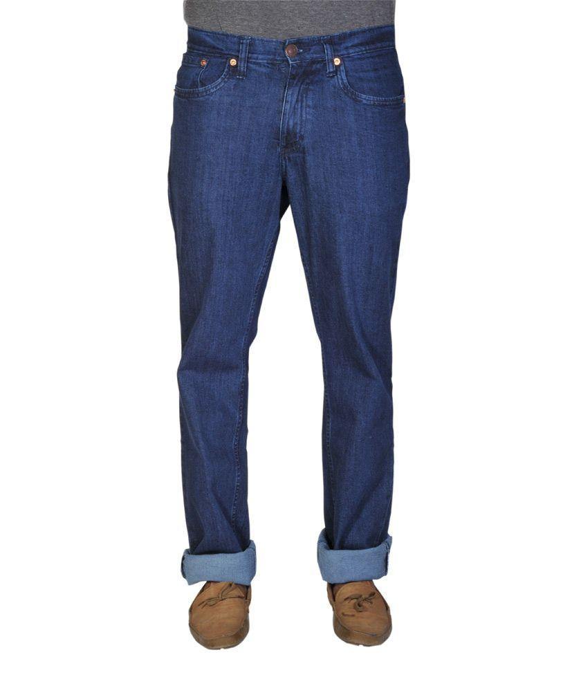 Levis-531 Dark Blue Cotton Jeans