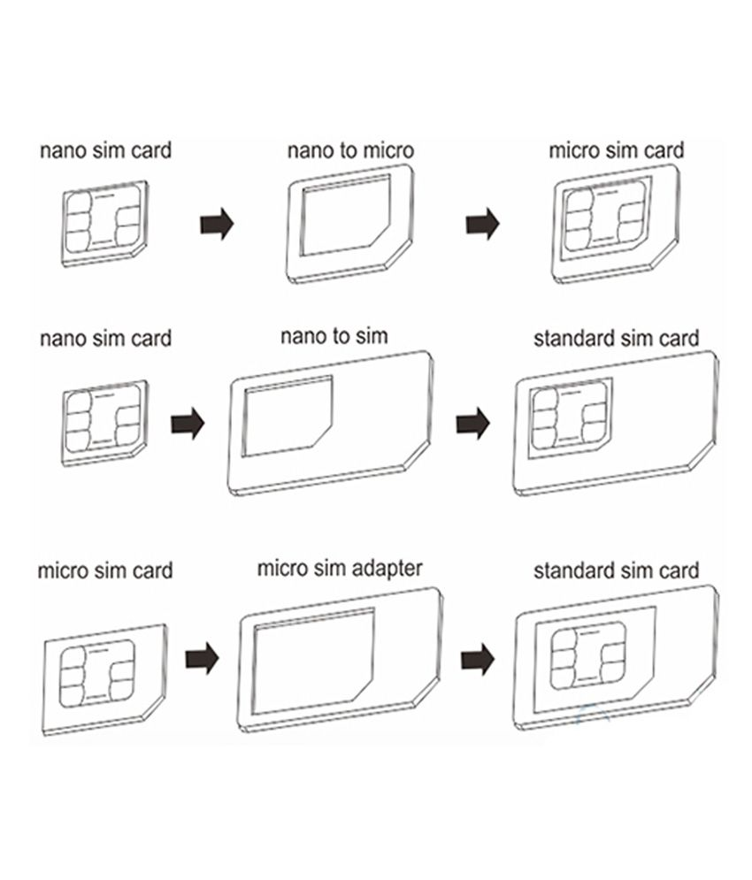 ... Noosy 3 In 1 Sim Card Adapter ...