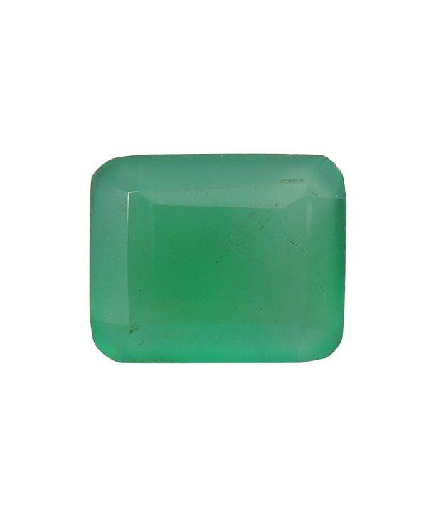Rashi Ratan Bhagya Natural Green Onex Cts. 4.84 Ratti. 5.324