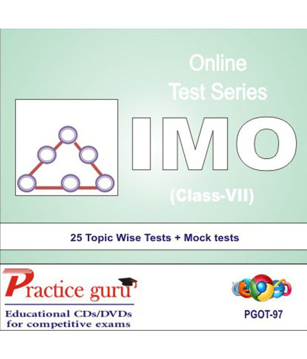 Score high with Chapter wise tests + Mock Paper for IMO CLASS 7  Full  syllabus coverage and updated with latest pattern