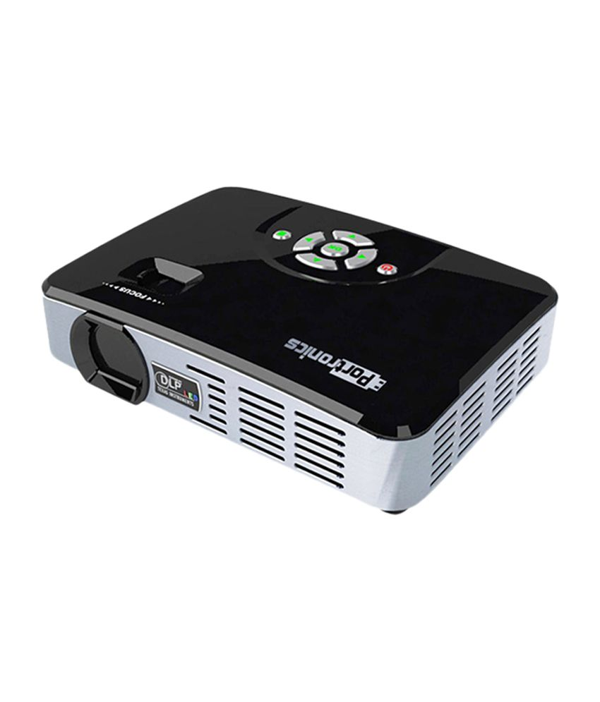 Buy portronics por 340 ilume pico projector online at best for Buy pico projector