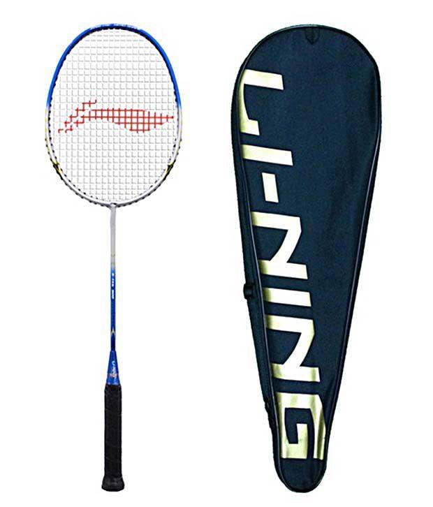 li ning g tek 90ii badminton racket with assorted bag buy online