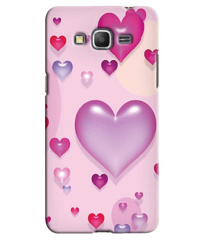hot sales 25114 bd29d Snooky Back Cover Case For Samsung Galaxy Core Prime G360h-Pink