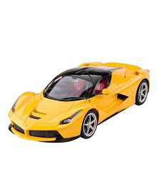 Webby Red Remote Controlled Car With Opening Doors