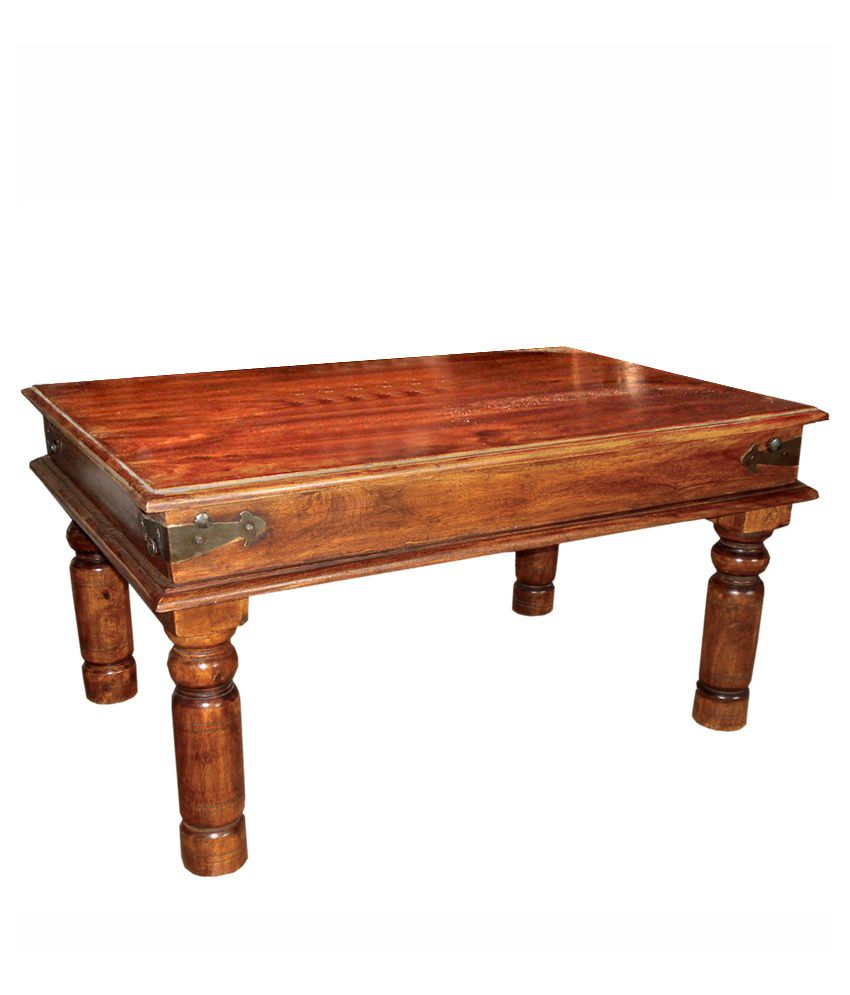 Solid Wood Takhat Coffee Table