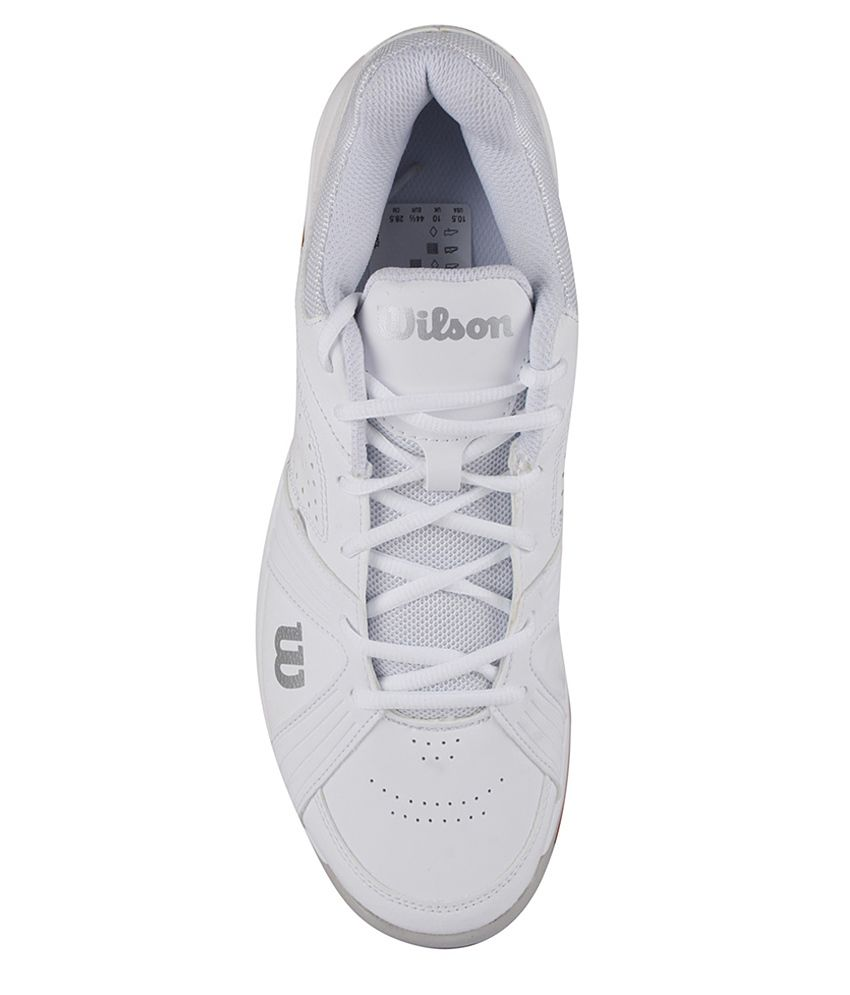 Wilson Rush Swing White Sport Shoes  Buy Online at Best Price on ... 0b215fe8235