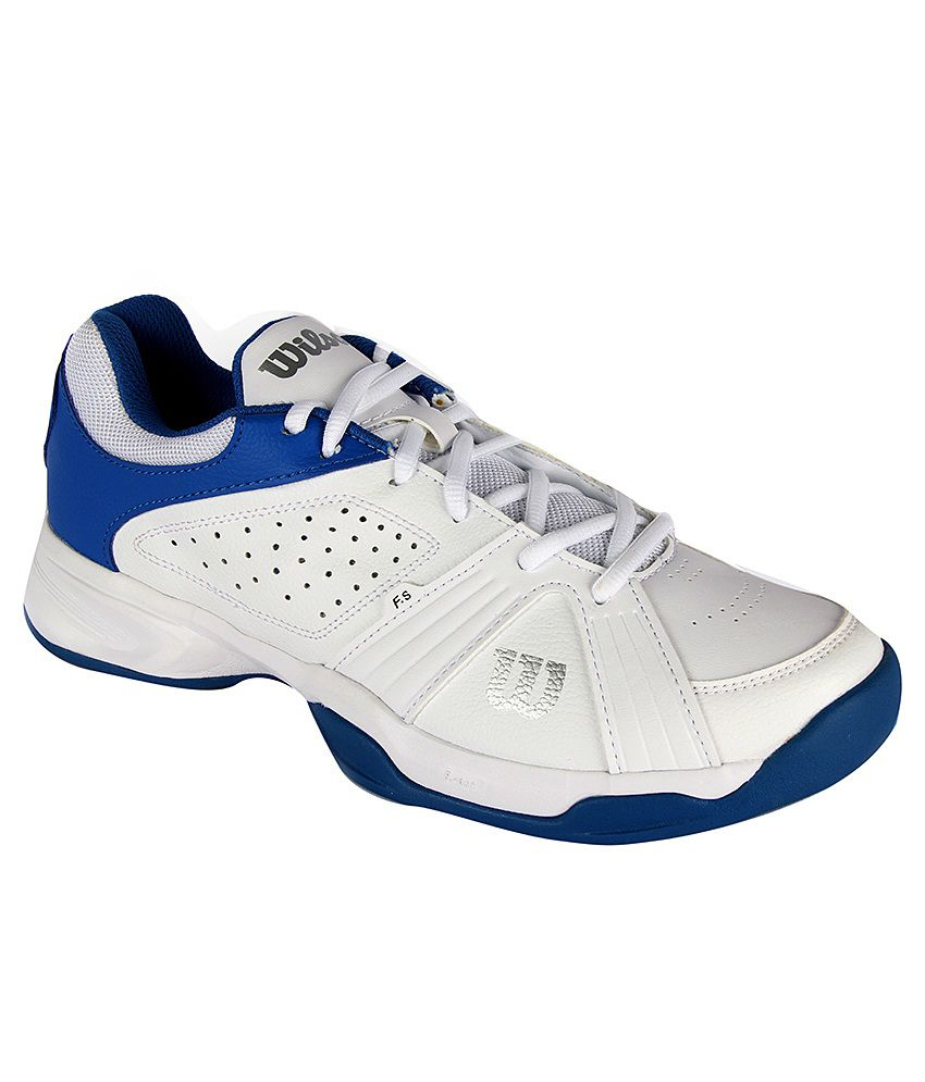 Wilson Rush Swing White Sport Shoes - Buy Wilson Rush Swing White Sport  Shoes Online at Best Prices in India on Snapdeal aacc5bc7716