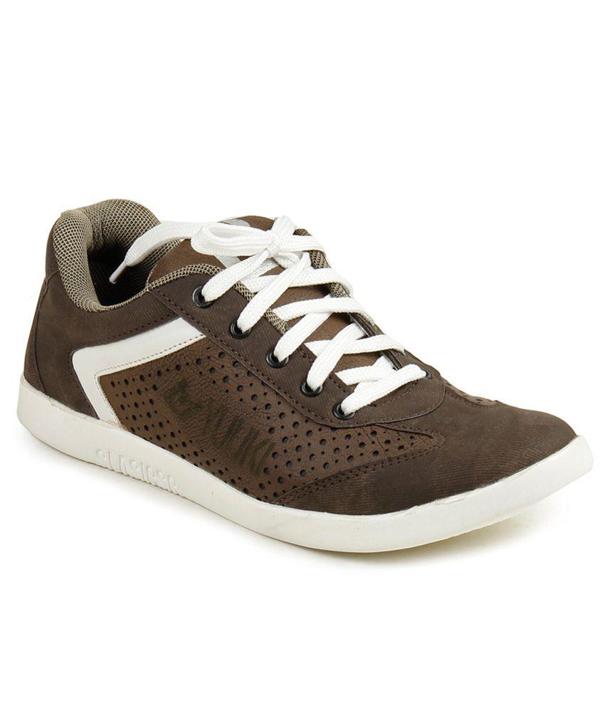 Yuuki Elegante Brown Casual Shoes Price in India- Buy Yuuki Elegante ...