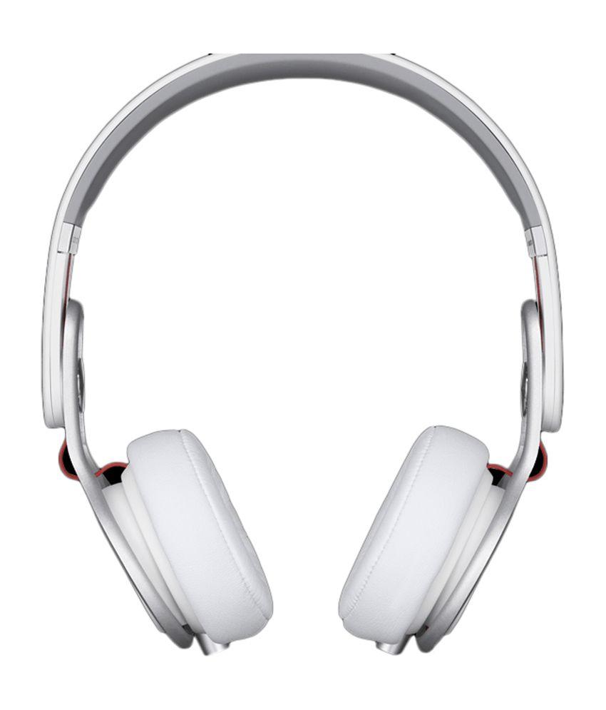 2e7ea964ab6 Beats Mixr On-Ear Headphone -White - Buy Beats Mixr On-Ear Headphone ...