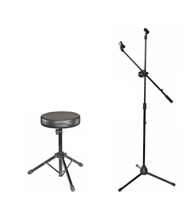 Kadence Combo Of M30 Drum Throne And Microphone Stand