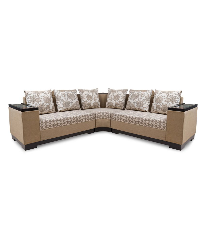 Flora Persia L Shaped Sofa Set Best Price In India On 21st