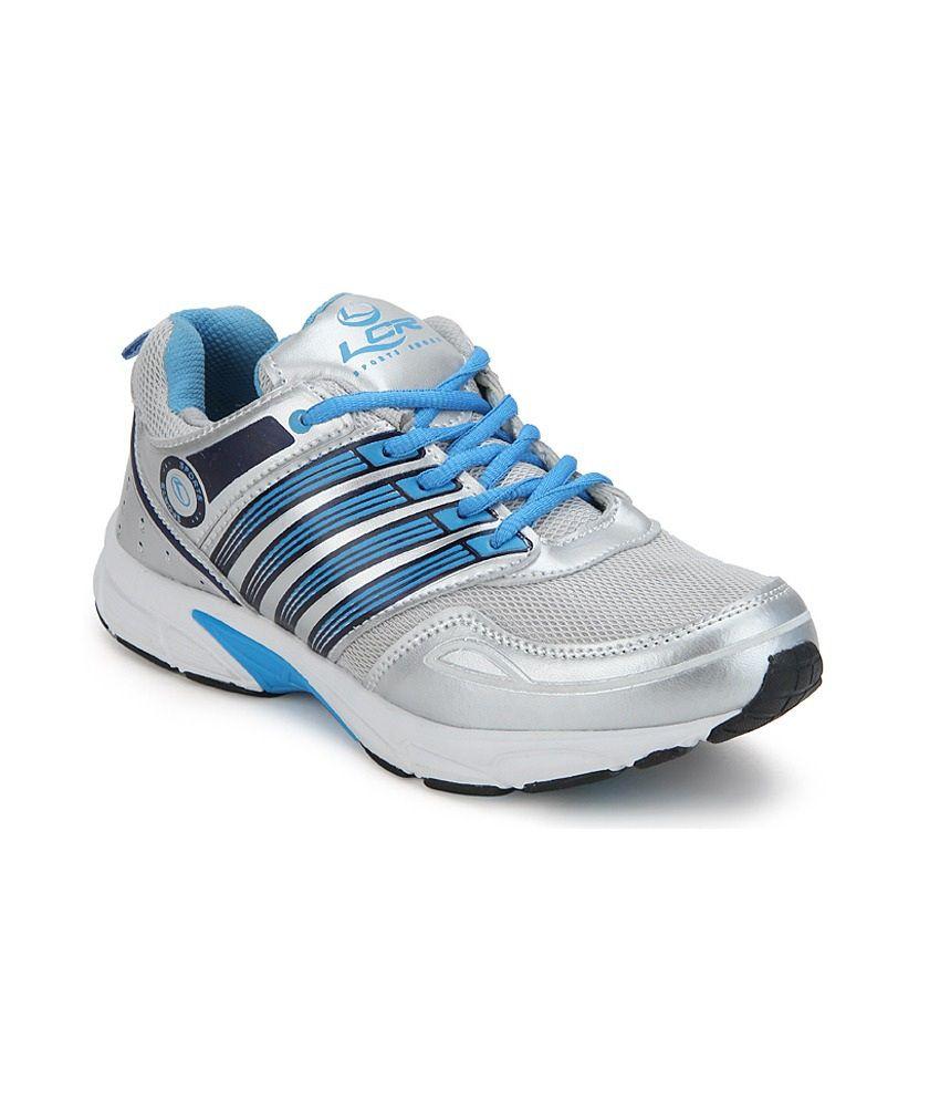 Lancer Silver Running Shoes